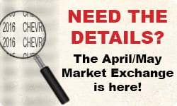 Market Exchange Side Bar - April and May